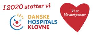 Klovnesponsor DHK Støtte 2020